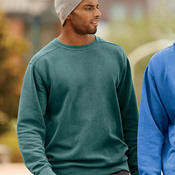 Adult Garment-Dyed Crew Neck Sweatshirt