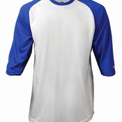 Adult Performance 3/4 Sleeve Raglan-Sleeve Baseball Undershirt