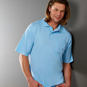 Adult SpotShield™ Jersey Pocket Polo