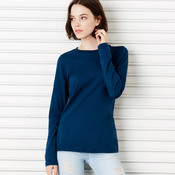 +CANVAS Ladies' Relaxed Jersey Long-Sleeve Tee