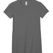 +CANVAS Ladies' Poly-Cotton Short-Sleeve Tee