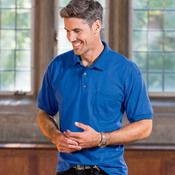 ® DryBlend® Adult Jersey Polo with Pocket