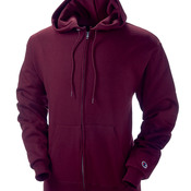 Adult Double Dry® Eco® Full-Zip Hooded Fleece