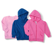 Toddler Hooded Pullover Fleece with Pockets