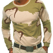 Code Five Adult Long-Sleeve Camo T-Shirt