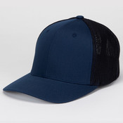 Flexfit® Mesh Cotton Twill Trucker Cap