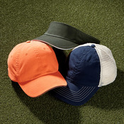 UltraClub Classic Cut Brushed Cotton Twill Unconstructed Sandwich Cap