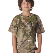 Code Five Youth REALTREE® Camouflage Short-Sleeved T-Shirt