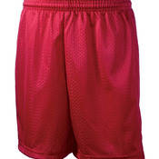 "Youth Tricot-Lined 6"" Mesh Shorts"