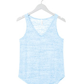 +CANVAS Ladies' Flowy V-Neck Tank