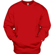 Adult Athletic Fleece Pocket Crew