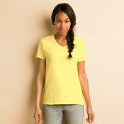 Heavy Cotton™ Ladies' V-Neck T-Shirt