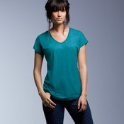 Ladies' Tri-Blend V-Neck Tee