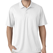 UltraClub® Men's Tall Cool & Dry Mesh Piqué Polo