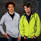 Fruit of the Loom Adult Sofspun® Jersey Full-Zip Hooded Tee