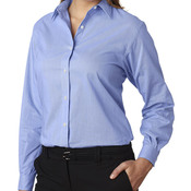 Ladies' Long-Sleeve Feather Stripe