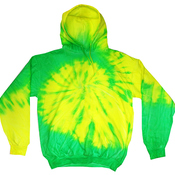 Tie-Dye Youth Fluorescent Tie-Dyed Pullover Hoodie
