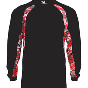 Adult Digital Hook Long Sleeve Performance Tee