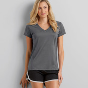 ® Performance® Ladies' V-Neck Tech T-Shirt