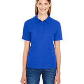 Ladies' 6.5 oz. X-Temp® Piqué Short-Sleeve Polo with Fresh IQ