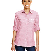 Ladies Texture Woven Shirt