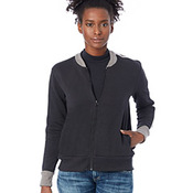 Ladies' Squad Vintage French Terry Bomber Jacket