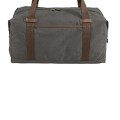 ® Cotton Canvas Duffel