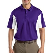 Side Blocked Micropique Sport Wick ® Polo