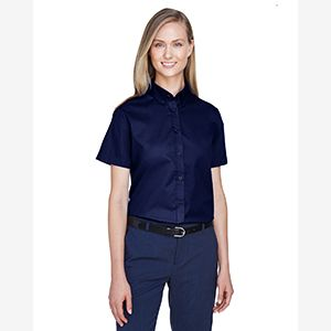 Ladies' Optimum Short-Sleeve Twill Shirt Thumbnail