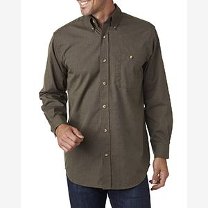 Men's Nailhead Long-Sleeve Woven Shirt Thumbnail