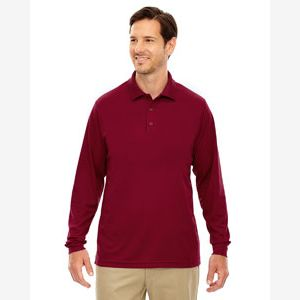 Men's Pinnacle Performance Long-Sleeve Piqué Polo Thumbnail