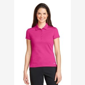 Ladies Dri FIT Solid Icon Pique Modern Fit Polo Thumbnail