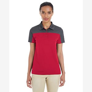 Ladies' Balance Colorblock Performance Piqué Polo Thumbnail