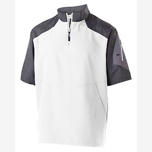 Unisex Ultra-Lightweight Aero-Tec™ Raider Short-Sleeve Warm-Up Pullover Thumbnail