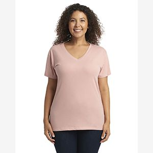 Ladies' Relaxed V-Neck T-Shirt Thumbnail