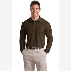 Long Sleeve Silk Touch™ Polo Thumbnail