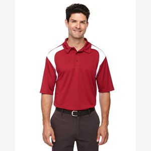 Eperformance™ Men's Colorblock Textured Polo Thumbnail